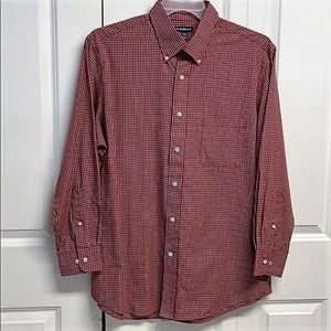 Croft & Barrow Dress Shirt Size L Checkered